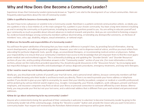 Thumb why and how does one become a community leader